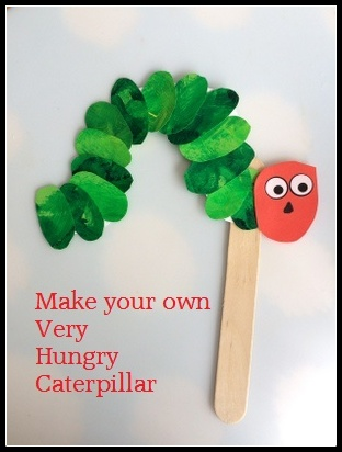 How to make your own very hungry caterpillar